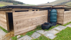 field shelter water system
