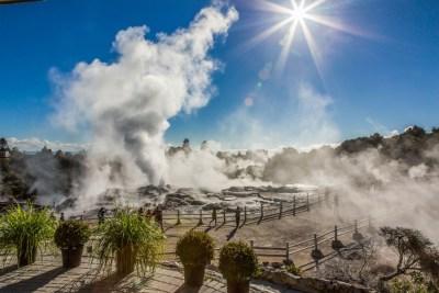 Geothermal Valley - Rotorua