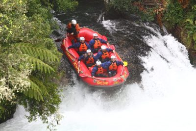 7 Meter Drop - White Water Rafting