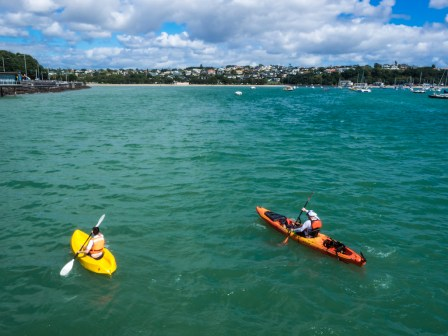 Okahu Bay Kayaks - Street Photography Auckland