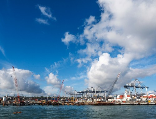 Image of the Ports of Auckland