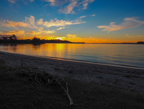 Kauri Bay Sunset Papakura Landscape Photography Auckland