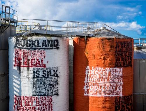 Wynyard Quarter Silos - Street Photography Auckland