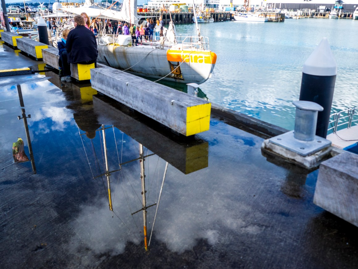 Magical Water Reflections - Street Photography Auckland