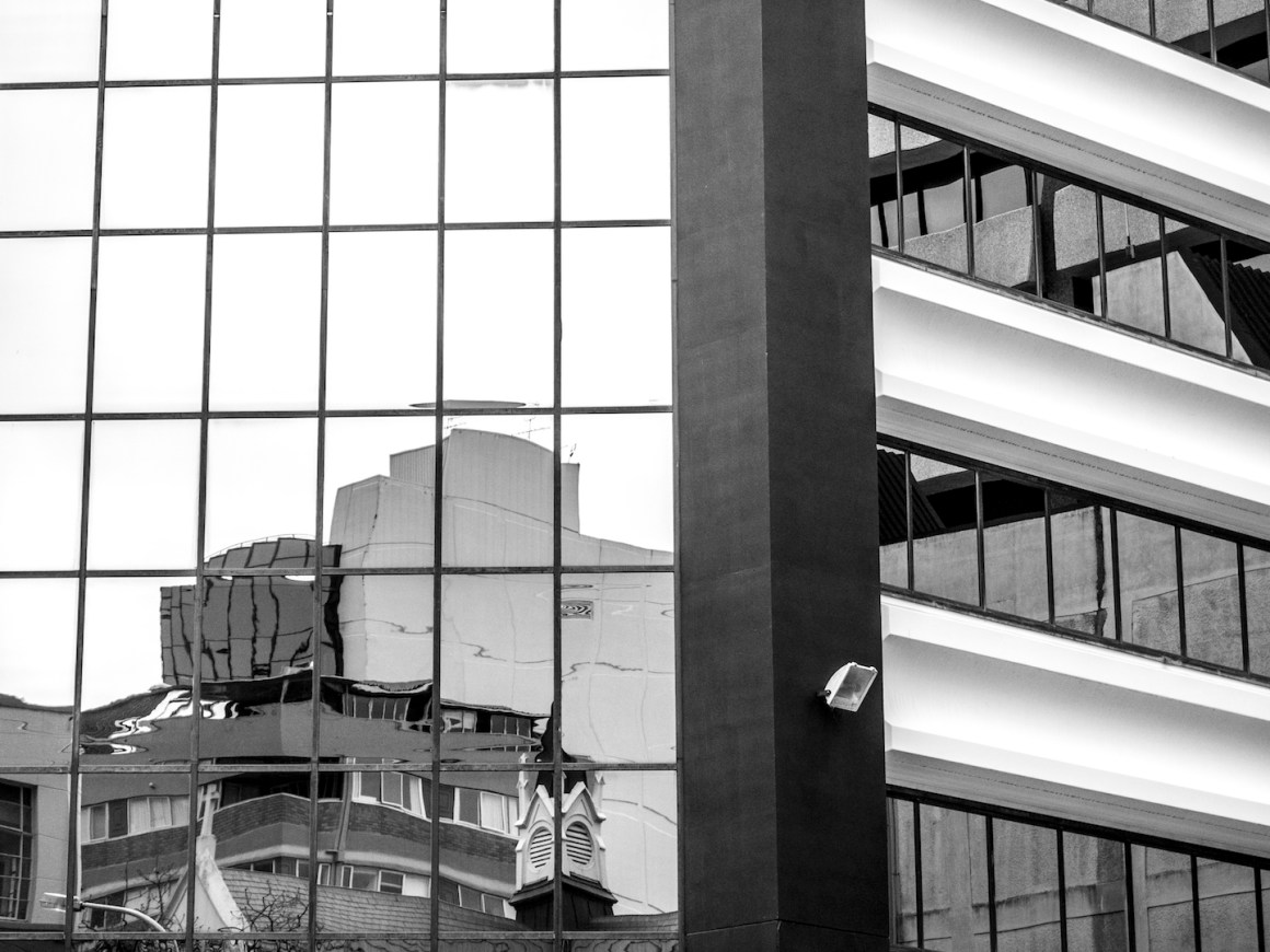 Concrete & Glass - CBD Auckland Street Photography