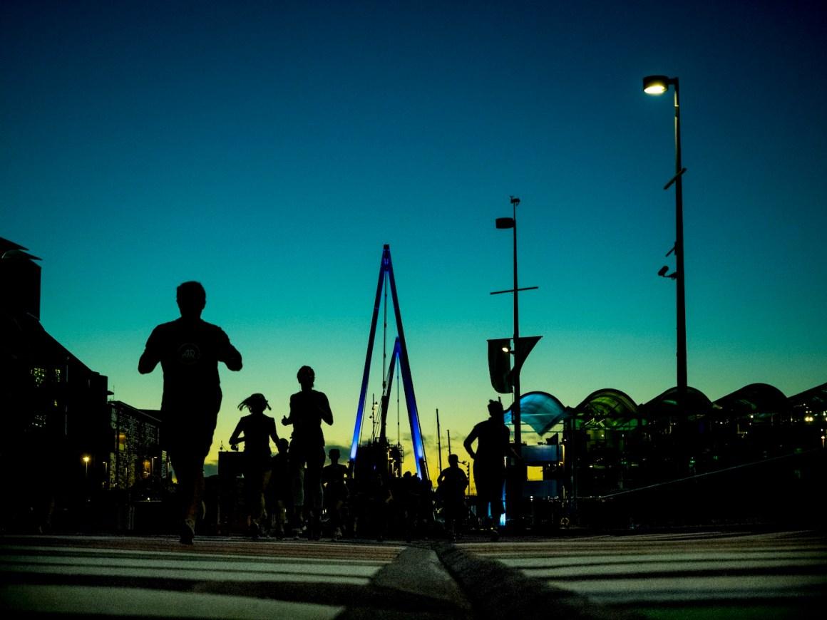 Night Run - Street Photography Auckland