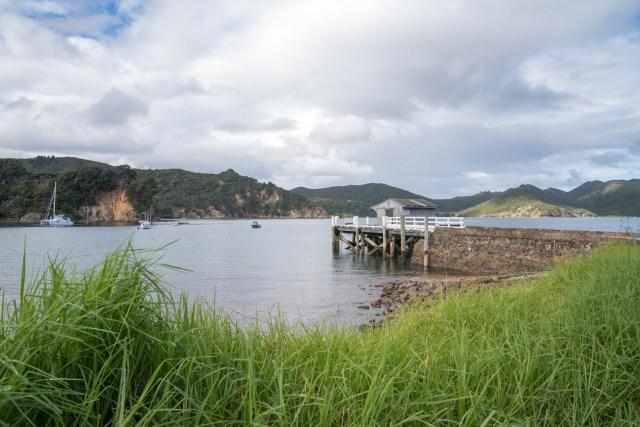 Blind Bay Wharf on Aotea Great Barrier Island