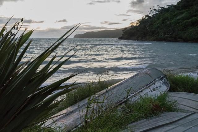 Mulberry Grove Beach Sunset at Great Barrier Island, Aotea