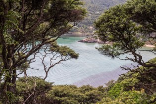 Okupu Bay on Aotea Great Barrier Island