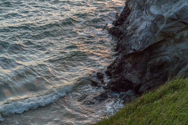 Coast Line at Tryphena during Sunset on Great Barrier Island, Aotea