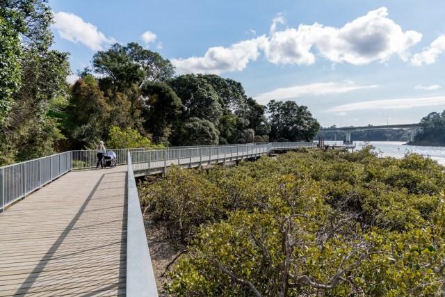 Hobsonville Point Waterfront Walkway