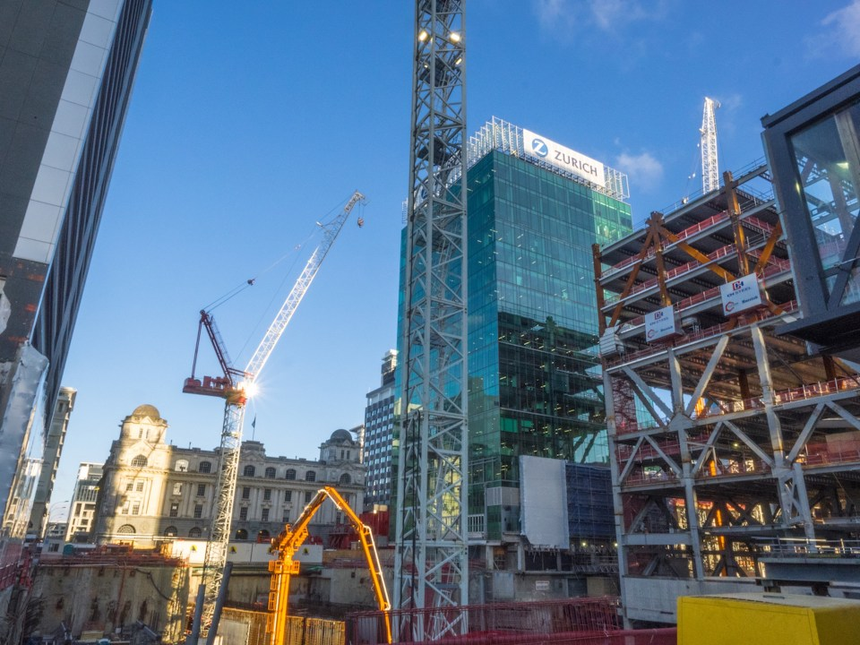 Queen Elizabeth Square Construction Britomart