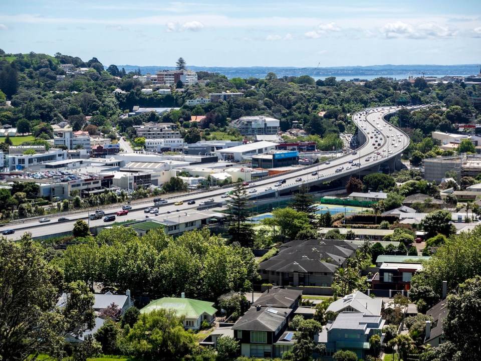 Mt Hobson - Newmarket View