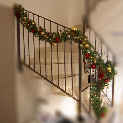 La déco de l'escalier