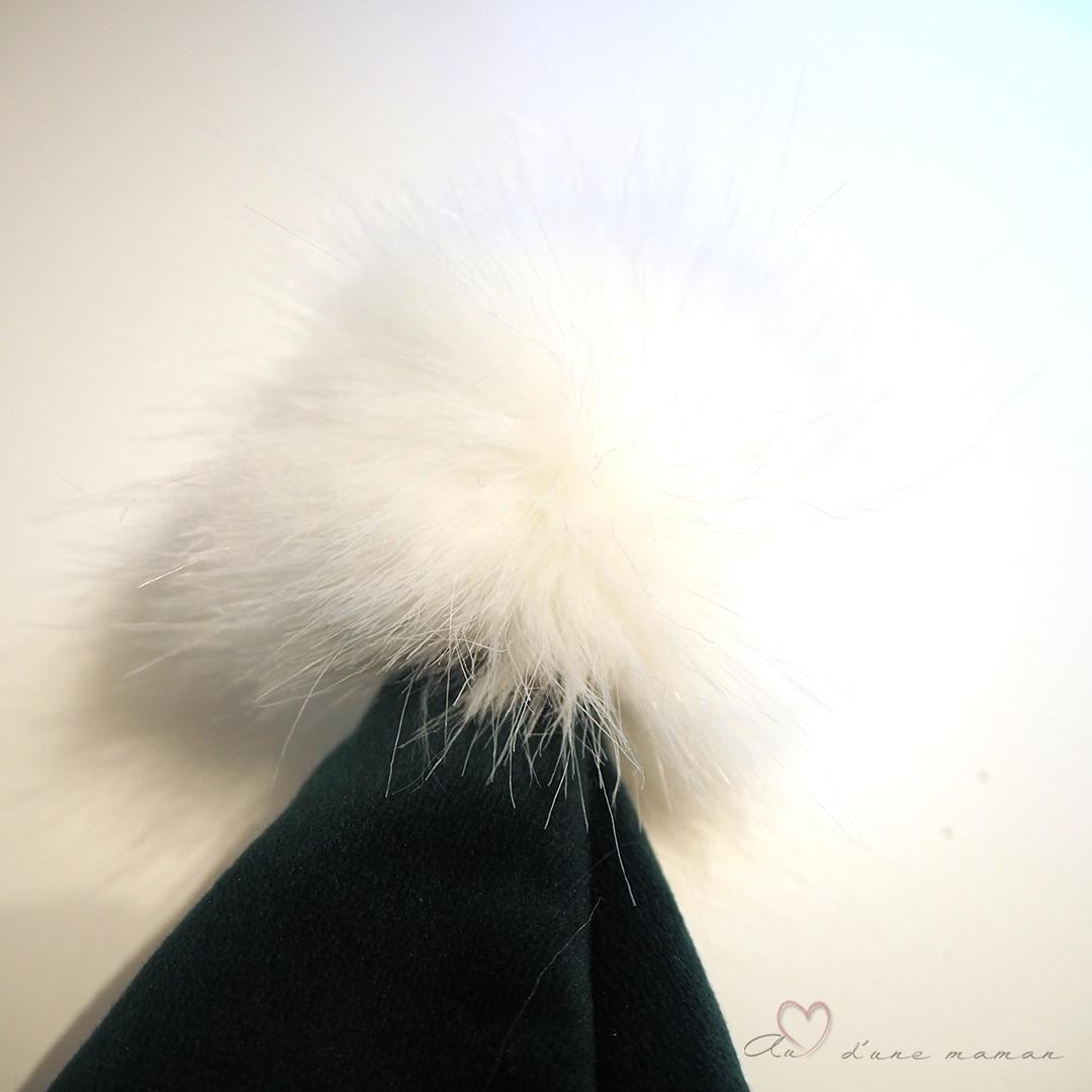 tuto bonnet de noël