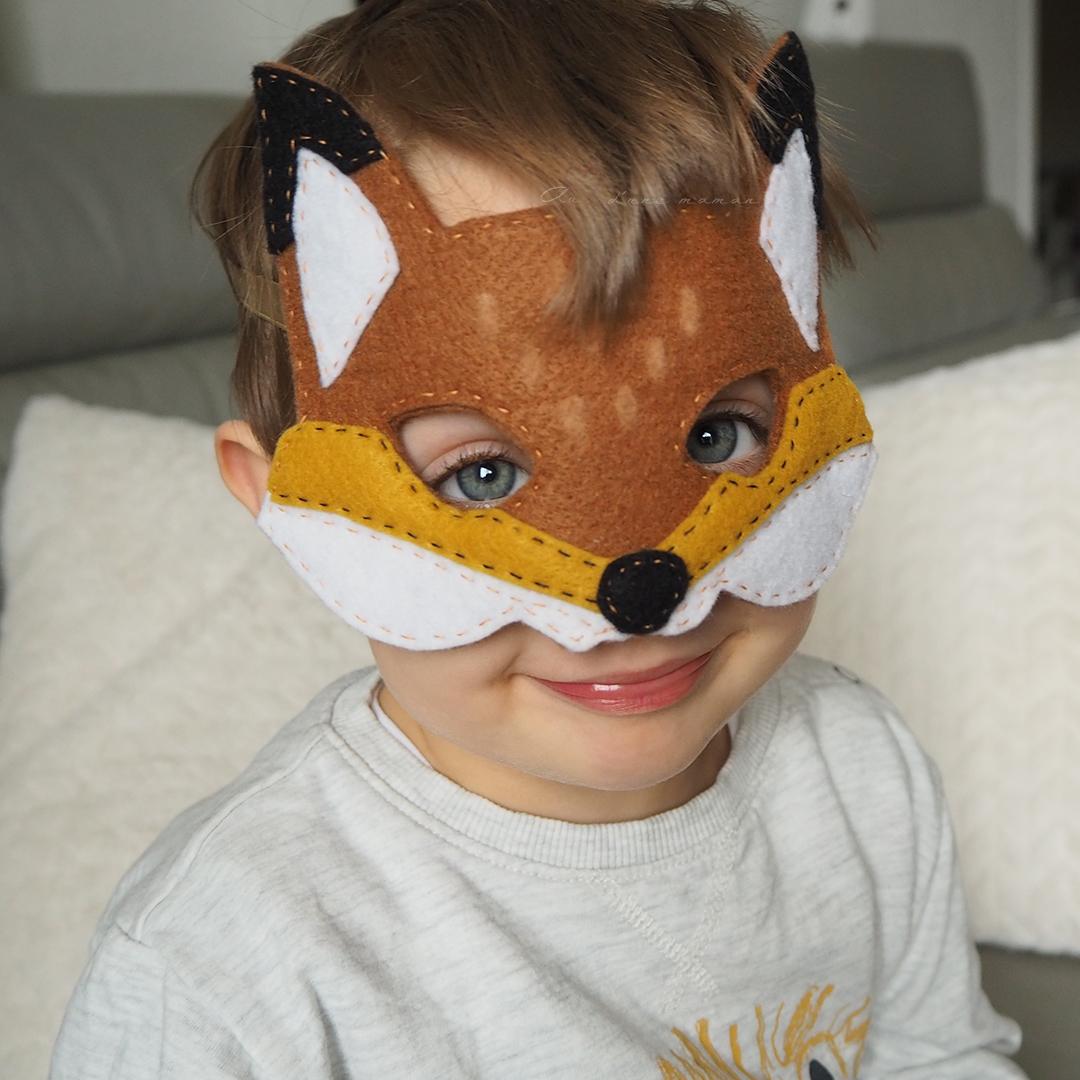 masque renard carnaval