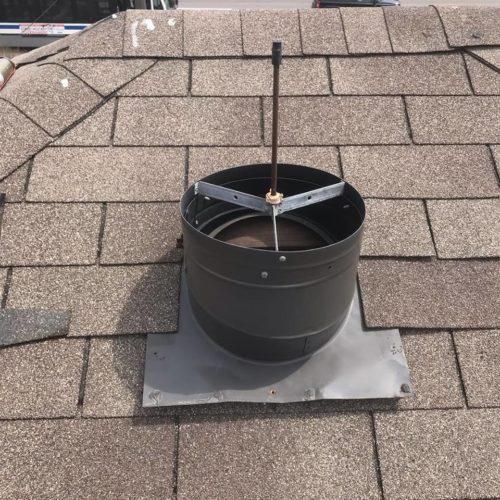 damaged vent