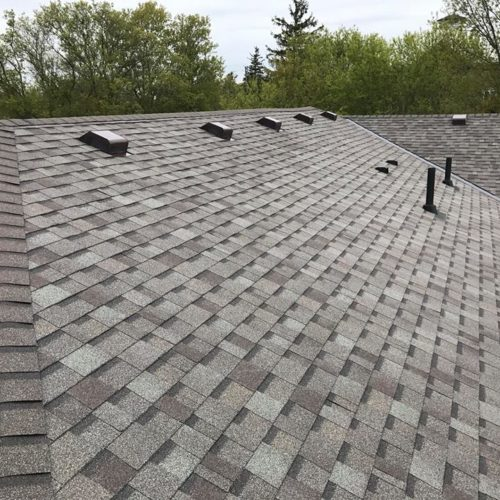 house with new roof