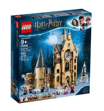 Lego La tour de l'horloge de Poudlard 2