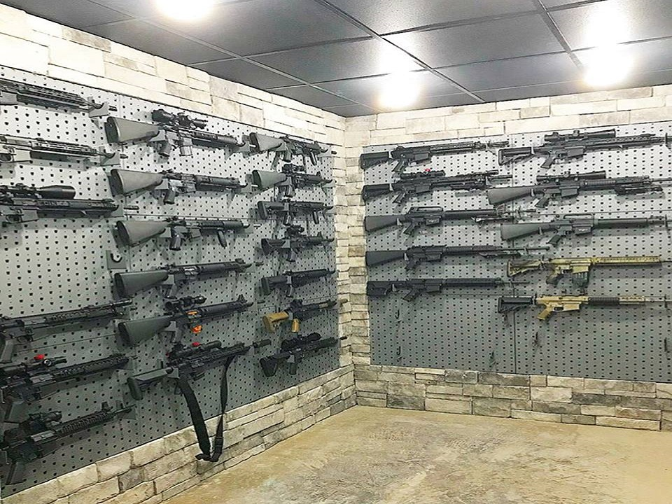Custom Gun Rooms And Storage Solutions For Even The