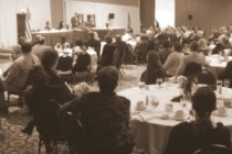 Bob McBride addresses the KAA
