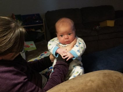 Month-old Gavin