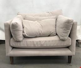 Beige Single Seater Lounge