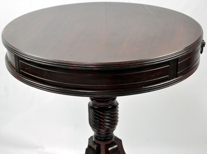 Duncan Phyfe Round Table Lion Handle