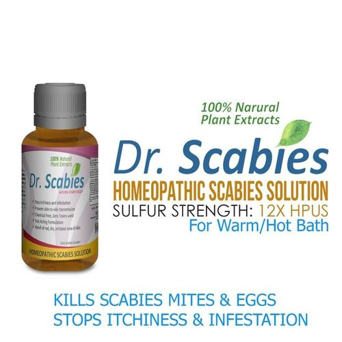 Dr Scabies Cream Personal Starter Kit Treatment To Kill