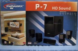 Paramax P7 HD Sound 1500 Watt Surround Speaker System