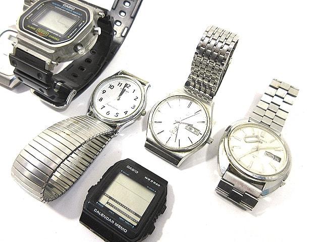 ジャンク 腕時計 まとめてセット/SEIKO/CASIOなど