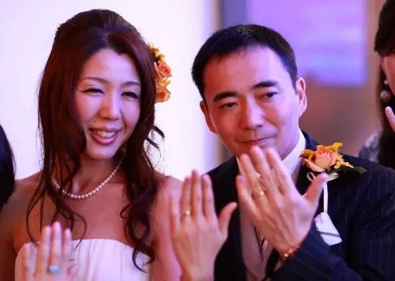 恵比寿es で結婚写真 二次会パーティー
