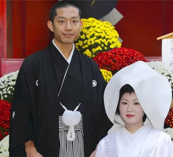 鹿島神社の結婚写真
