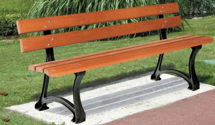 banc madrid aude plastique