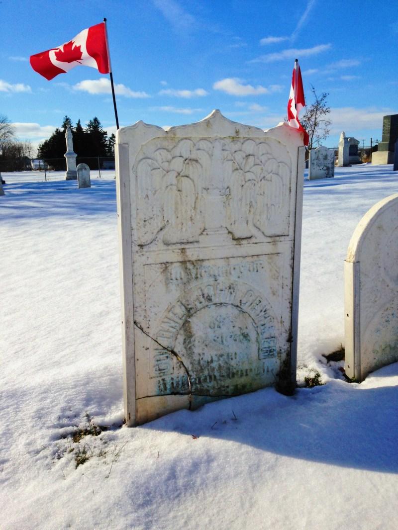 The grave of John Crysler