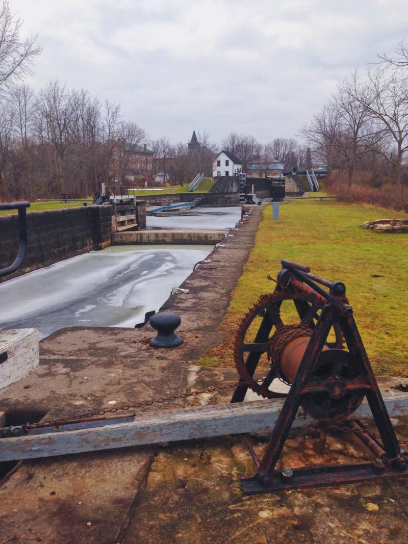Canal Rideau à Merrickville
