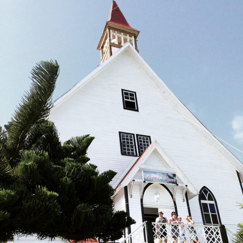 L'église de La Loma à San Andres