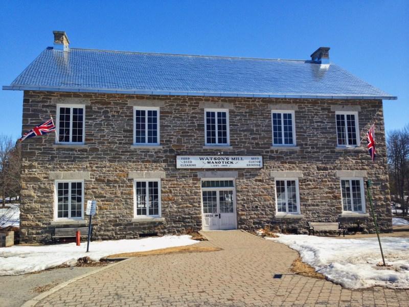 Watson's Mill in Manotick