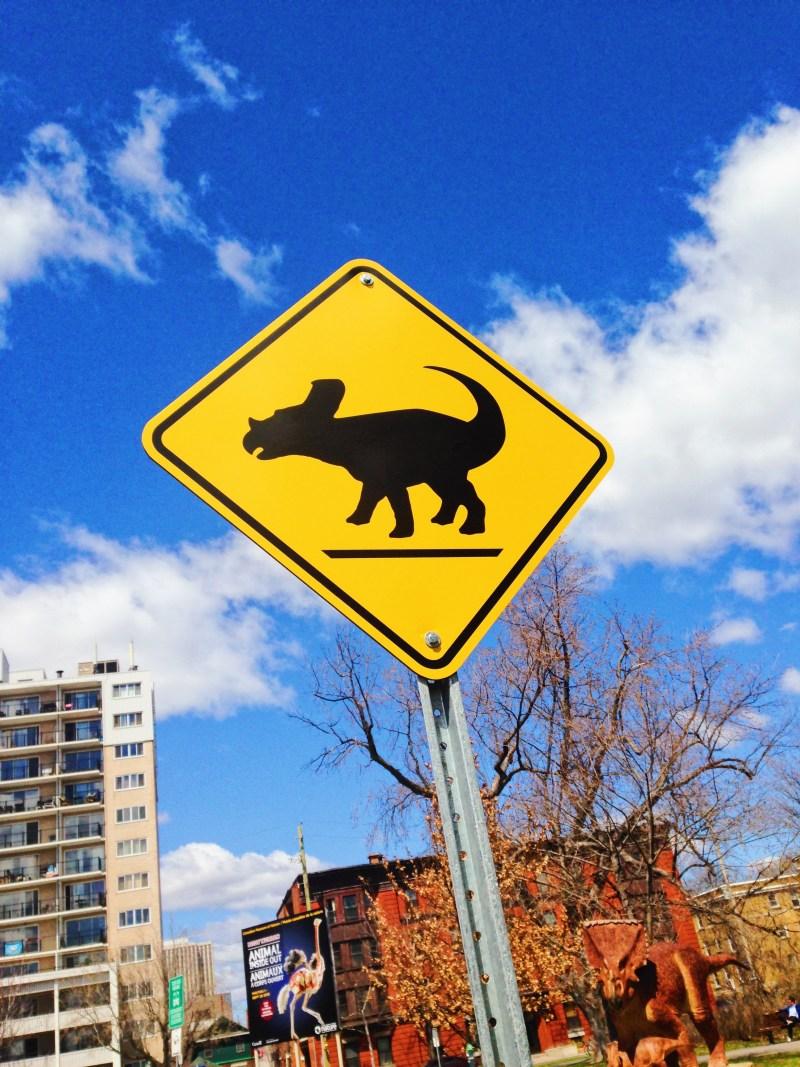 Traversée de dinosaures au Musée canadien de la nature