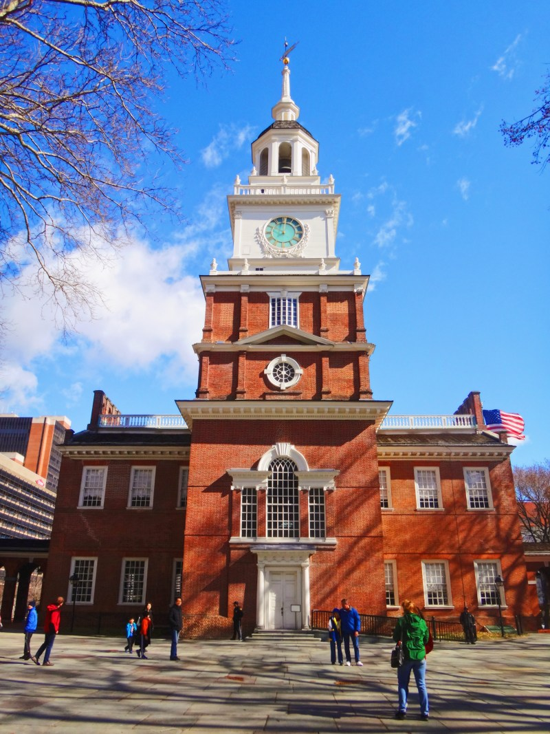 Independence Hall à Philadelphie