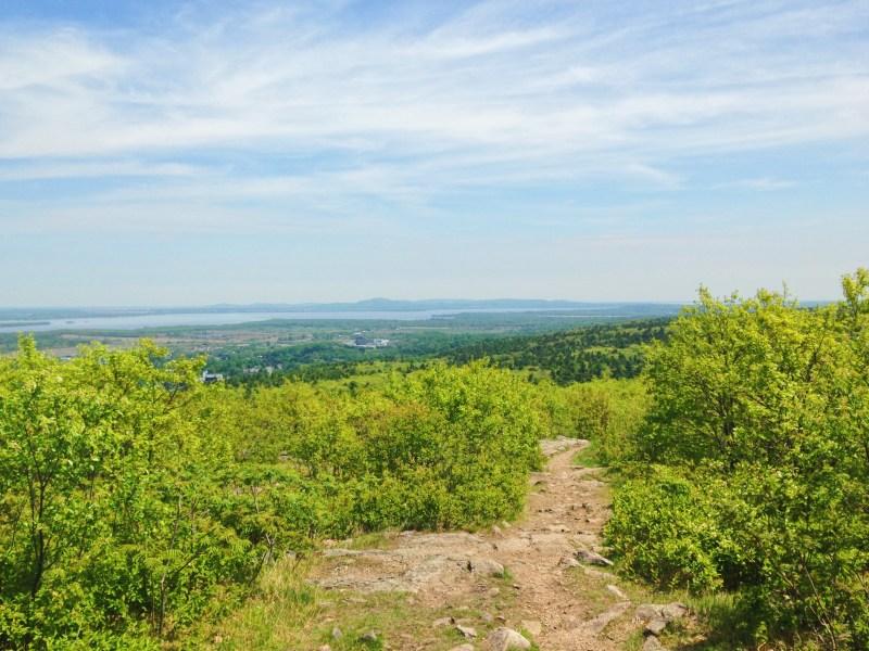 La vue au sommet du mont Rigaud