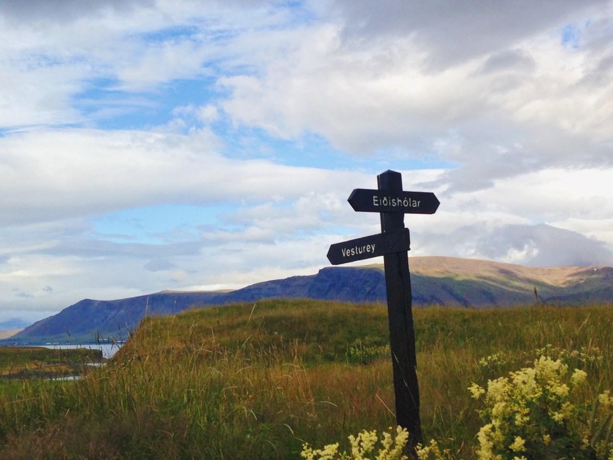 Reykjavik: les sentiers féériques de l'île Viðey