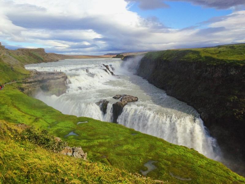La chute Gullfoss