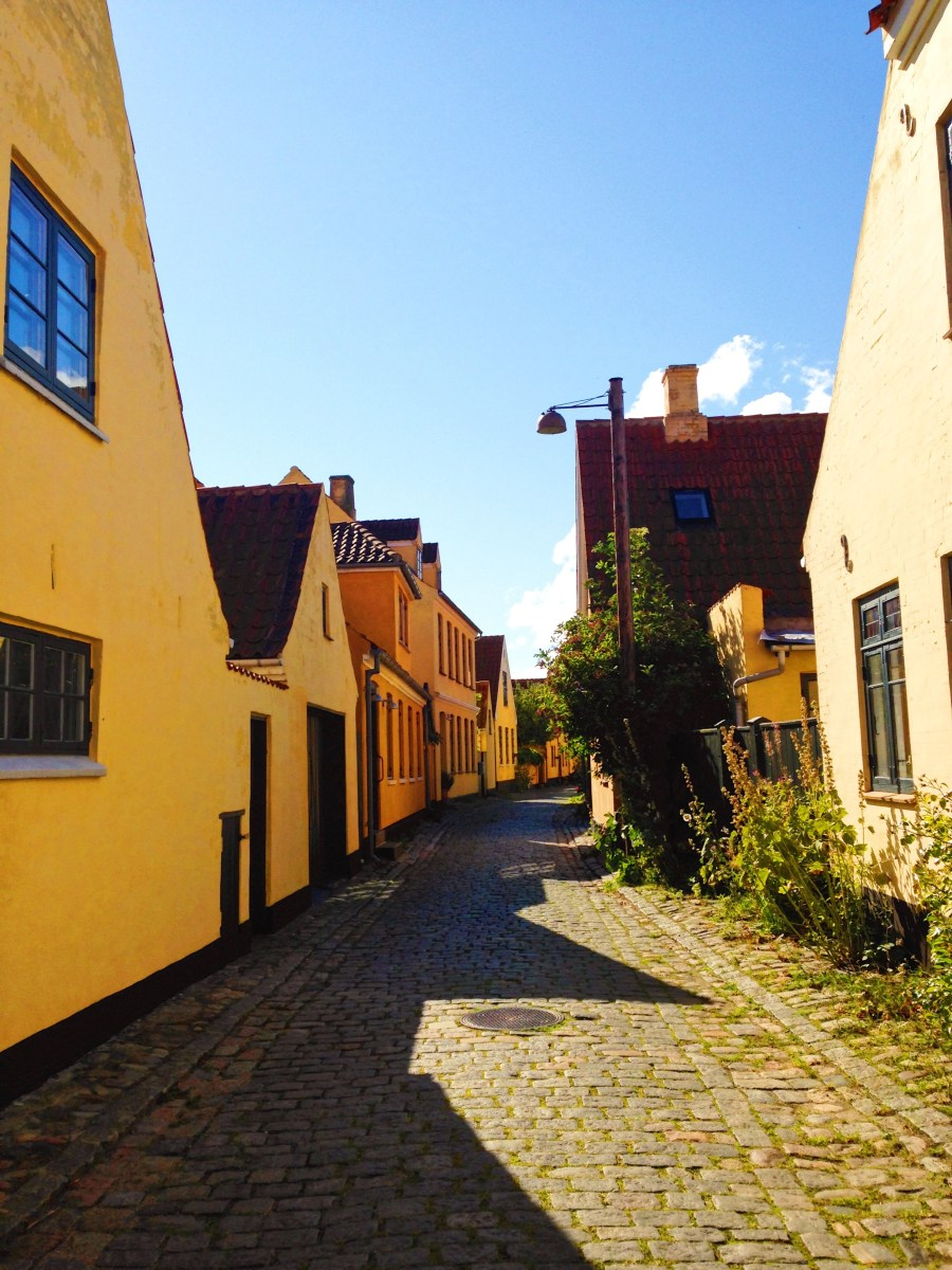 The little yellow houses of Dragør
