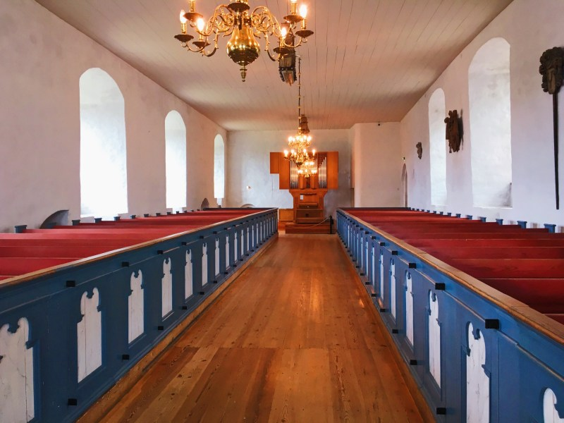 The chapel of Turku Castle
