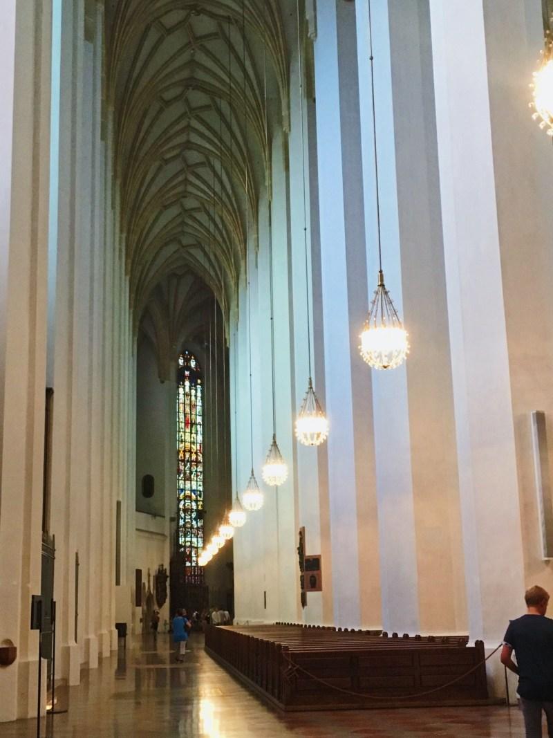L'intérieur de Frauenkirche