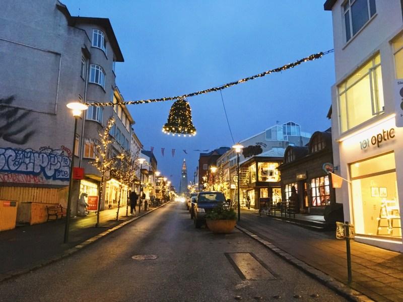 Reykjavik en décembre