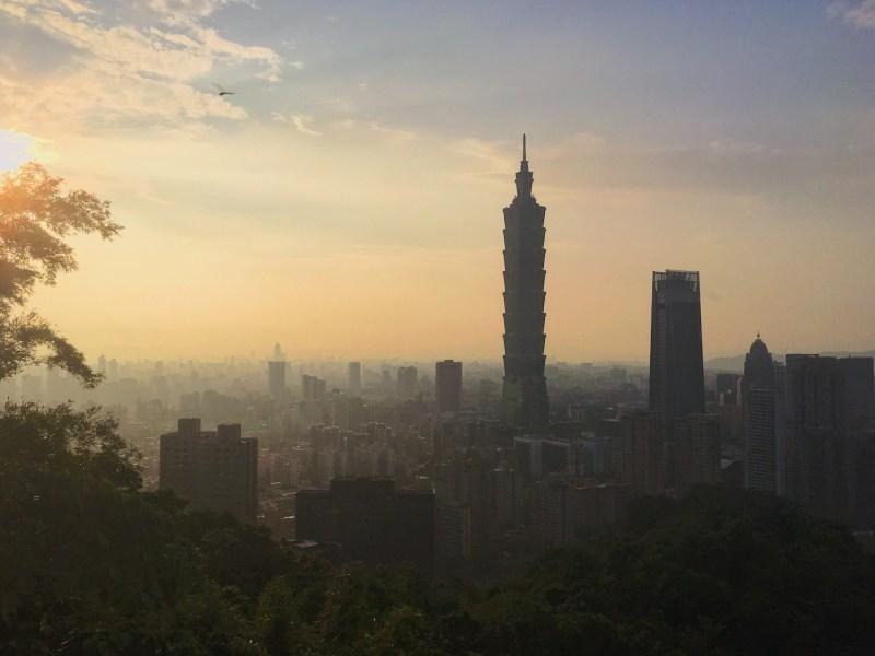Taipei depuis le mont Éléphant
