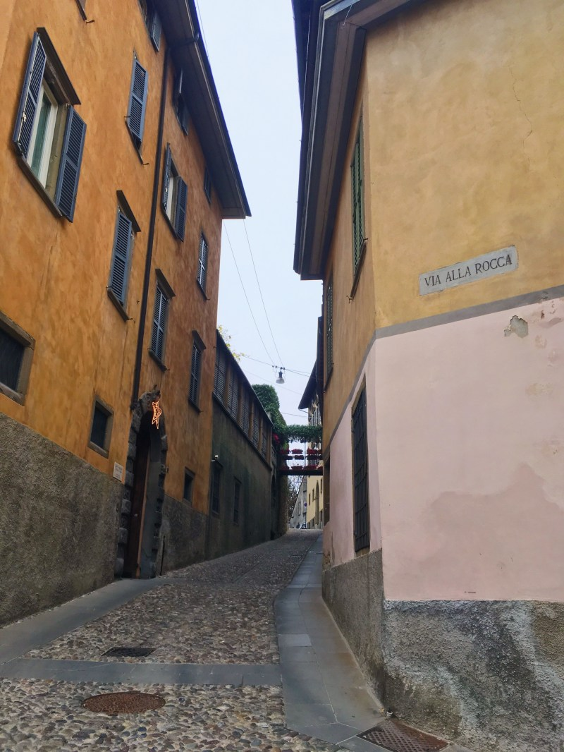 Bergamo upper city
