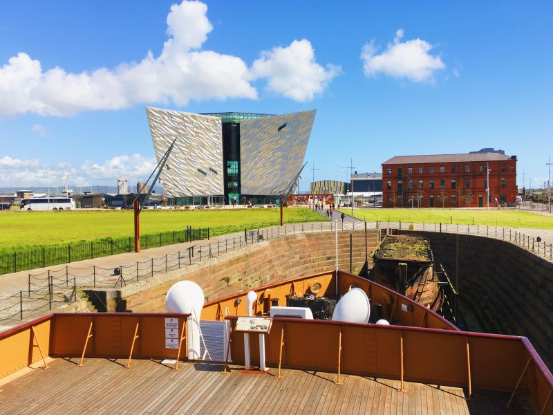 Belfast shipyard